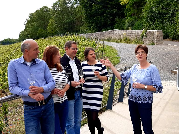 Foto: Steinweinpfad Führung, (c) Weingut Reiss